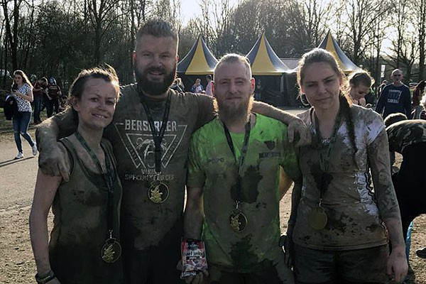 Strong Viking –Mud-Edition – Nimwegen - 09.04.2018
